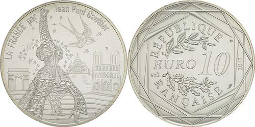 Lieferumfang:Frankreich : 10 Euro Paris, universelle  2017 bfr