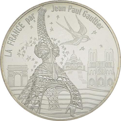 Vorderseite:Frankreich : 10 Euro Paris, universelle  2017 bfr