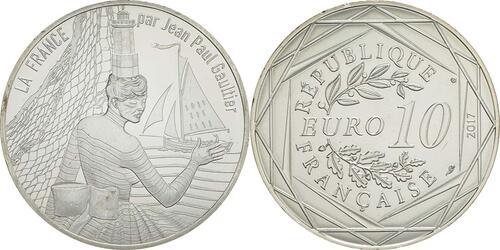 Lieferumfang:Frankreich : 10 Euro La Bretagne Breizh  2017 bfr