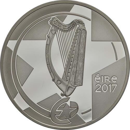 Vorderseite:Irland : 10 Euro Ha Penny Brücke  2017 PP