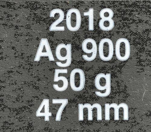 Zertifikat:Frankreich : 100 Euro Waffenstillstand  2018 Stgl.