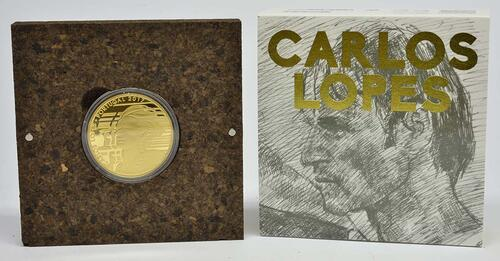 Lieferumfang:Portugal : 7,5 Euro Carlos Lopes  2017 PP