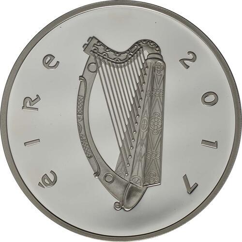 Rückseite:Irland : 15 Euro Jonathan Swift - Gulliver´s Reisen  2017 PP