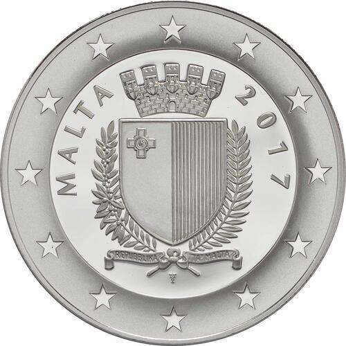 Rückseite:Malta : 10 Euro Frauenwahlrecht  2017 PP