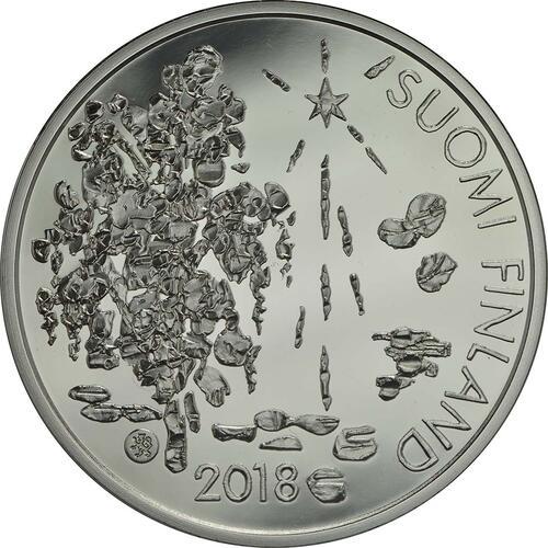 Vorderseite:Finnland : 20 Euro 200. Geburtstag Zacharias Topelius  2018 PP