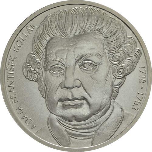 Vorderseite:Slowakei : 10 Euro Adam Frantisek Kollar  2018 Stgl.