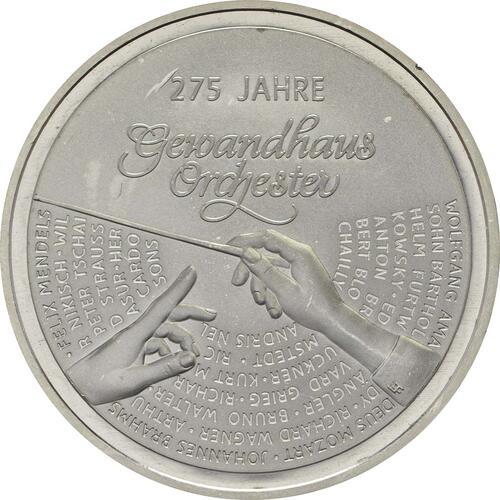 Vorderseite:Deutschland : 20 Euro 275 Jahre Gewandhausorchester  2018 bfr