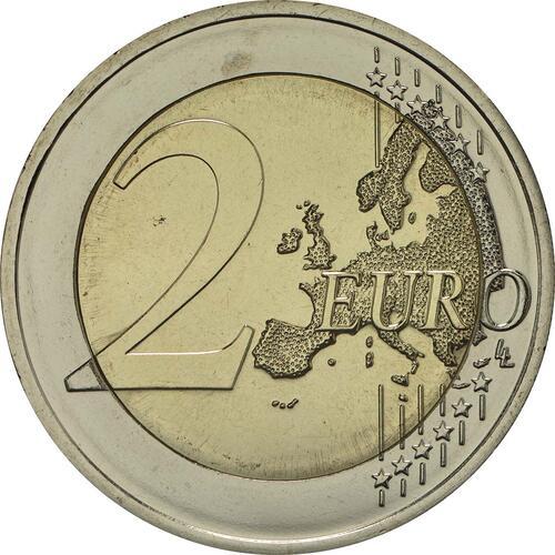 Vorderseite:Deutschland : 2 Euro Berlin - Schloss Charlottenburg  2018 bfr