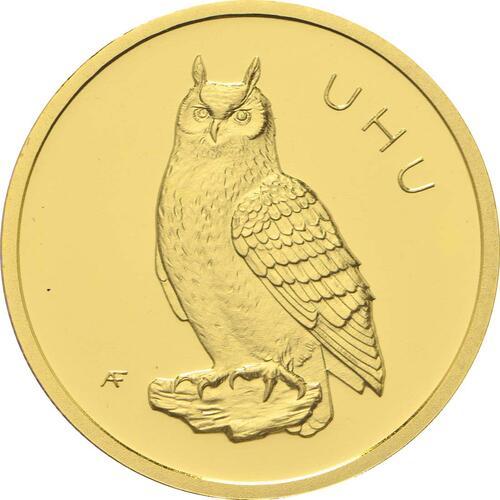 Vorderseite:Deutschland : 20 Euro Uhu  2018 Stgl.