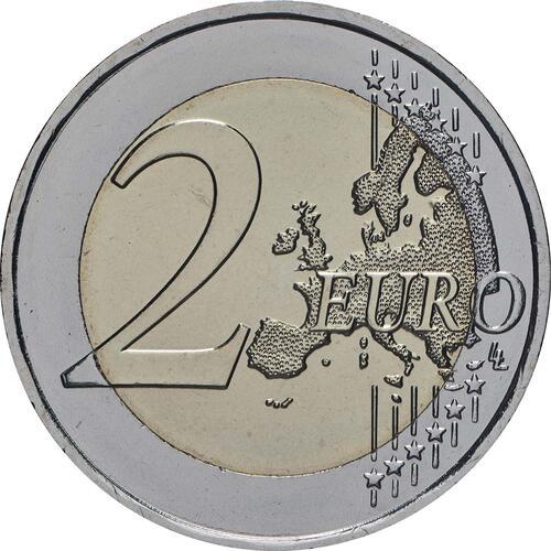 Vorderseite:Malta : 2 Euro Kulturelles Erbe  2018 bfr
