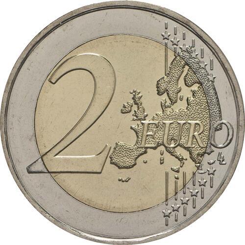 Vorderseite:Malta : 2 Euro Mnajdra  2018 bfr