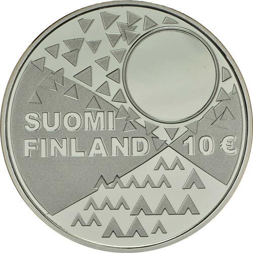 Rückseite :Finnland : 10 Euro Samische Kultur  2018 PP