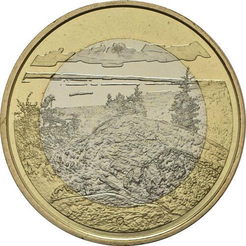 Vorderseite :Finnland : 5 Euro Koli National Park  2018 bfr