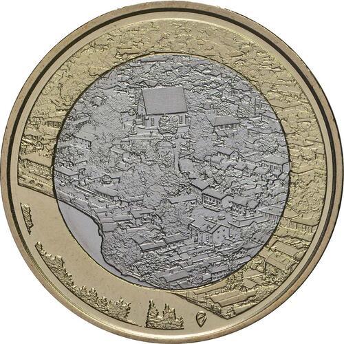 Vorderseite:Finnland : 5 Euro Fluss Porvoonjoki  2018 bfr
