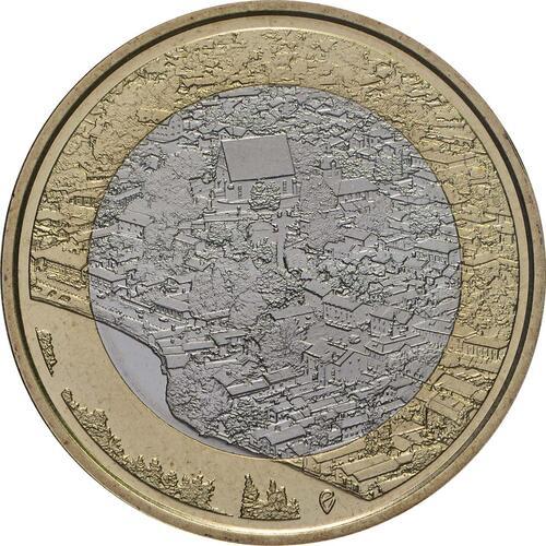 Vorderseite:Finnland : 5 Euro Fluss Porvoonjoki  2018 PP