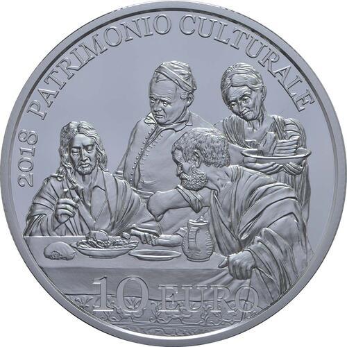 Vorderseite:San Marino : 10 Euro Europäisches Jahr des Kulturerbes  2018 PP