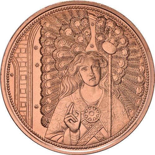 Vorderseite:Österreich : 10 Euro Raphael - der Heilungsengel  2018 Stgl.