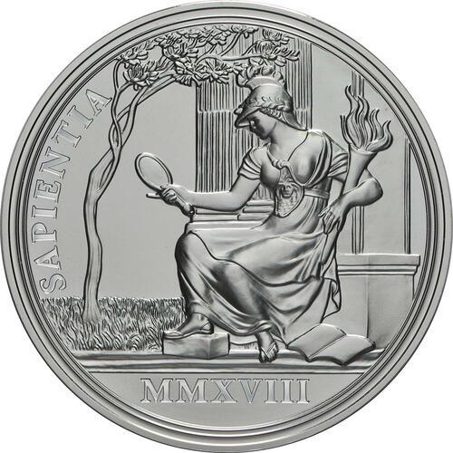 Rückseite:Österreich : 20 Euro Weisheit und Reformen  2018 PP