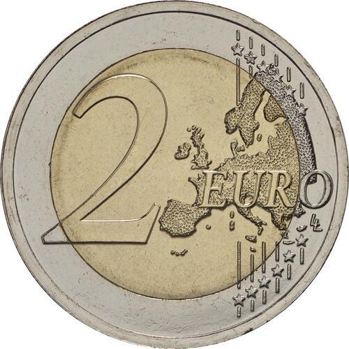 Vorderseite :Estland : 2 Euro 100 Jahre Republik Estland  2018 bfr