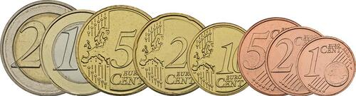 Vorderseite :Luxemburg : 3,88 Euro 1+2+5+10+20+50 Cent+1 Euro+2 Euro  2018 bfr