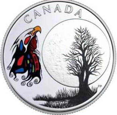Lieferumfang :Kanada : 3 Dollar Spirit Moon - Die 13 Lehren von Grandmother Moon  2018 PP