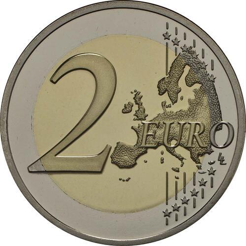 Vorderseite:Niederlande : 5,88 Euro KMS Niederlande - 1 Cent - 2 Euro mit neuem Münzmeisterzeichen inkl. 2 Euro mit vergoldeten Europasternen  2018 PP