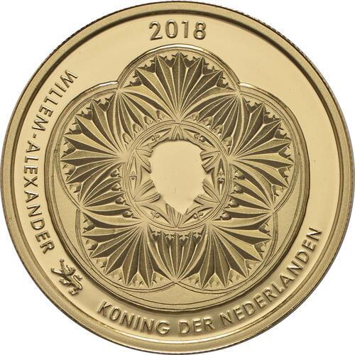 Rückseite :Niederlande : 5 Euro Leeuwarden Europäische Kulturhauptstsadt  2018 PP