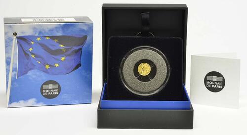 Lieferumfang :Frankreich : 5 Euro Vertrag von Maastricht  2018 PP
