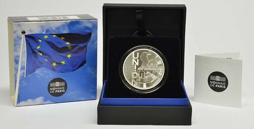 Lieferumfang:Frankreich : 10 Euro Vertrag von Maastricht  2018 PP