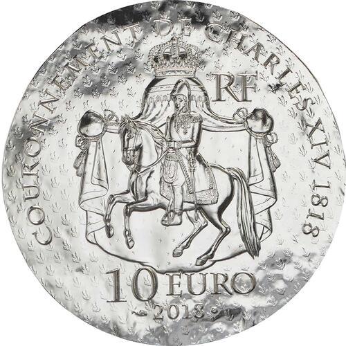 Rückseite :Frankreich : 10 Euro Désirée Clary  2018 PP