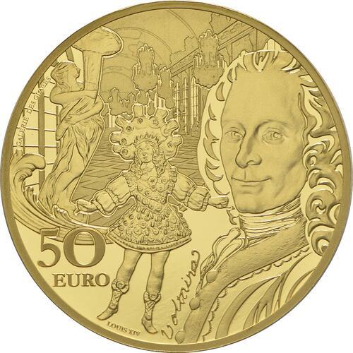 Vorderseite:Frankreich : 50 Euro Barock und Rokoko  2018 PP