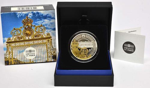 Lieferumfang:Frankreich : 10 Euro Tor des Schlosses von Versailles  2018 PP