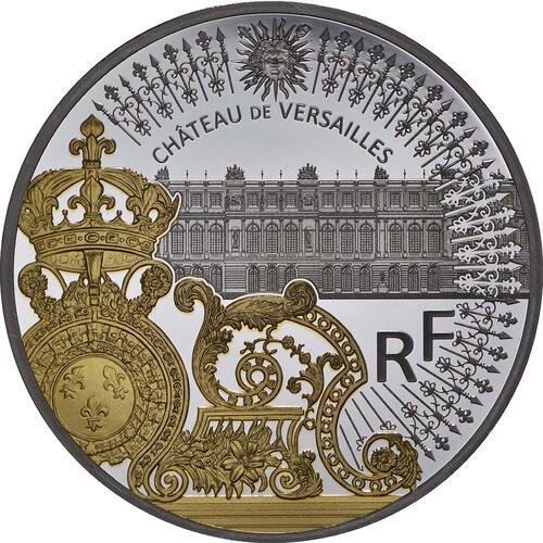 Vorderseite:Frankreich : 10 Euro Tor des Schlosses von Versailles  2018 PP