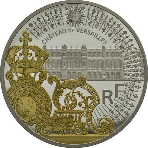 Vorderseite:Frankreich : 50 Euro Tor des Schlosses von Versailles  2018 PP