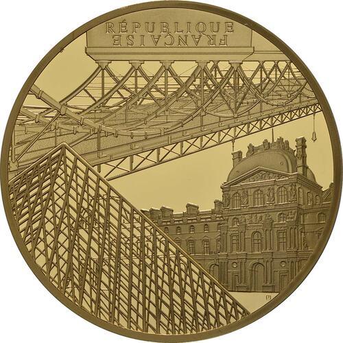 Vorderseite:Frankreich : 200 Euro Louvre  2018 PP