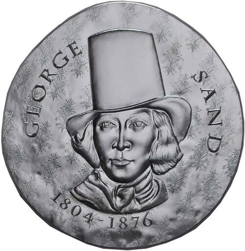 Vorderseite:Frankreich : 10 Euro George Sand / Frederic Chopin  2018 PP