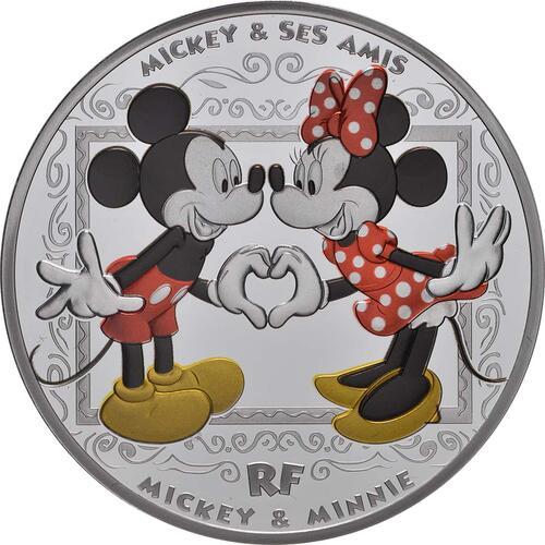 Vorderseite:Frankreich : 10 Euro Mickey und seine Freunde  2018 PP