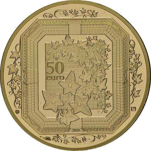 Rückseite:Frankreich : 50 Euro Boucheron  2018 PP