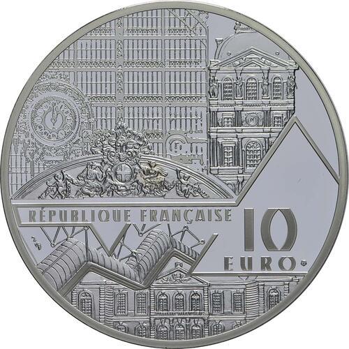 Rückseite:Frankreich : 10 Euro Le Baiser / Der Kuss  2018 PP