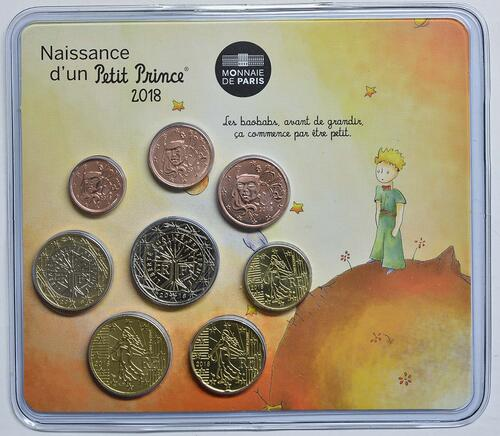 Lieferumfang:Frankreich : 3,88 Euro Mini KMS Jungen  2018 Stgl.