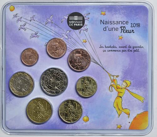 Lieferumfang:Frankreich : 3,88 Euro Mini KMS Mädchen  2018 Stgl.