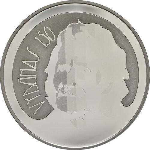 Vorderseite:Litauen : 20 Euro 150. Geburtstag von Wilhelm Storstone-Vydune  2018 PP