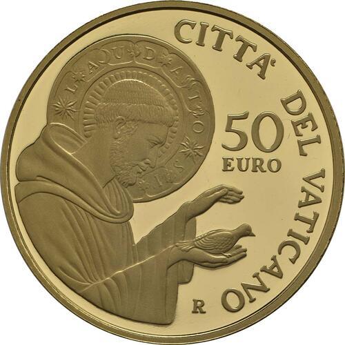 Vorderseite:Vatikan : 53,88 Euro KMS Vatikan mit 50 Euro Gedenkmünze  2018 PP