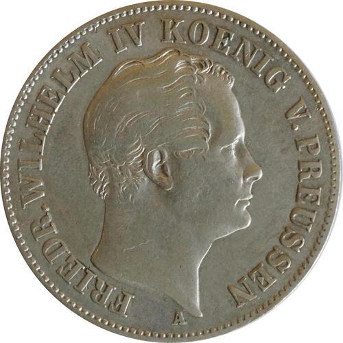 Rückseite:Deutschland : 1 Ausbeutetaler   1848 ss.