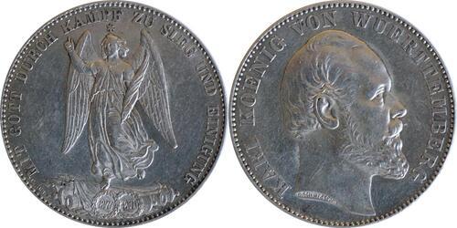 Lieferumfang:Deutschland : 1 Siegestaler   1871 vz.