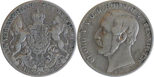 Lieferumfang:Deutschland : 1 Vereinstaler   1862 f.ss