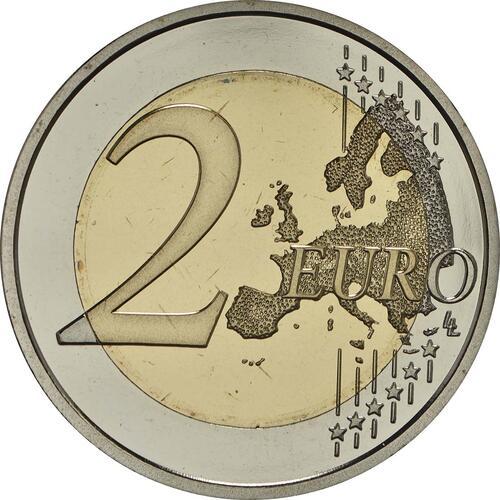 Vorderseite:Spanien : 2 Euro Santiago de Compostela   2018 PP