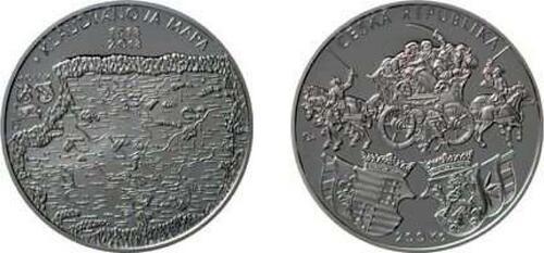 Lieferumfang:Tschechische Republik : 200 Kronen 500 Jahre Erste böhmische Landkarte  2018 PP