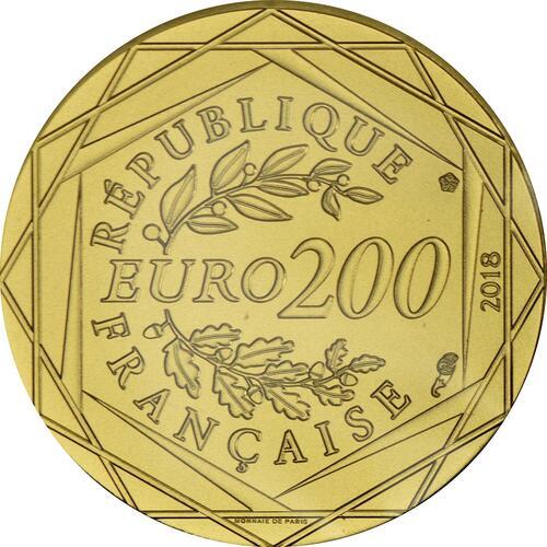 Rückseite :Frankreich : 200 Euro Micky  2018 bfr