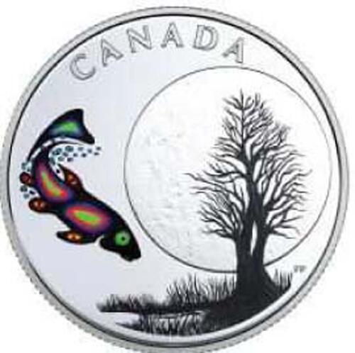 Lieferumfang:Kanada : 3 Dollar Sucker Moon - Die 13 Lehren von Grandmother Moon  2018 PP